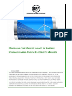 RBP - Modelling the Impact of Battery Storage