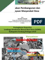 Arah Kebijakan Pembangunan dan Pemberdayaan Masyarakat Desa.pptx