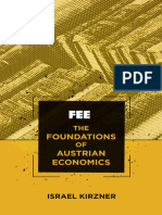 Foundations of Austrian Economics by Israel Kirzner.epub