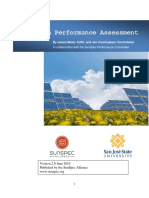 SunSpec PV System Performance Assessment v2