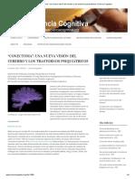 """""""Conectoma""""_ Una Nueva Visión Del Cerebro y Los Trastornos Psiquiátricos _ Ciencia Cognitiva"""