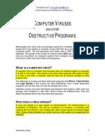 Destructive Programs
