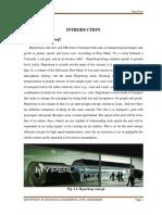 Hyperloop Report
