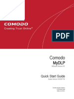 Comodo MyDLP Quick Start Guide (1)