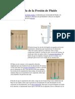 Medida de la Presión de Fluido.docx