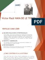LIder Victor Raul