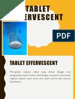 1. Tablet Effervecent