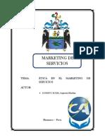 La Ética en el Marketing de Servicios