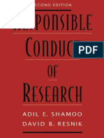 Responsible Conduct of Research, 2nd edition  Adil E. Shamoo, David B. Resnik (2009).pdf