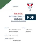 INFORME ana 1 teoria Rectificador con filtro capacitivo.docx