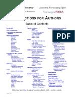 Instructions to Authors DEC11