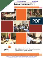 PWC Tax Memorandum 2013.pdf
