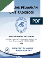 Alur Pelayanan Unit Radiologi