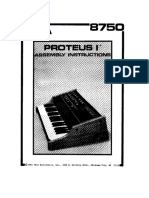 8750 Proteus 1 Assembly Instructions 200