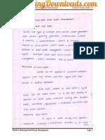 EN6501 Municipal Solid Waste Management Lecture Notes