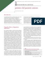 Protocolo diagnostico del paciente ansioso
