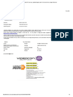 Videocon d2h DTH Services, Satellite Digital Cable TV, Direct to Home, Digital Television