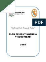 Plan de Contingencia y Seguridad