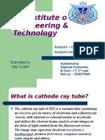 CATHODE RAY TUBE PPT