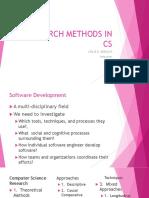 2 Research Methods in Cs 1