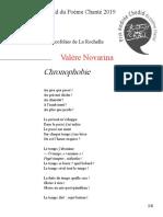 Prix Andrée Chedid 2019