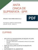 Rezonanta Plasmonica de Suprafata - Spr