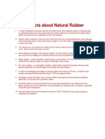 10 Facts About Natural Rubber