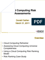 Cloud Computing Risks Assesment