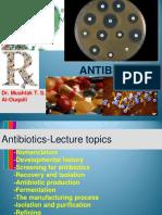 Lecture of Antibiotics