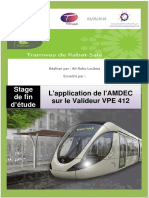 Rapport de Stage Tramway 2