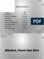 Alkohol Fenol Dan Eter