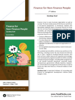Finance for Non-Finance People South Asian Ed.