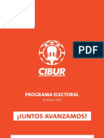 Programa Electoral Cibur 2019 (Version Movil)