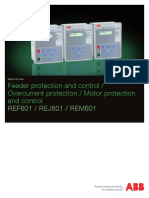 ABB Feeder Protection and Control