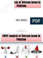Swot Analysis of Telecom Industry