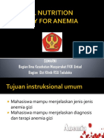Nutrition for Anemia - Imunologi