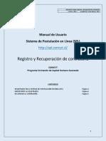 Manual SPL 1 Registro y Recuperacion de Clave