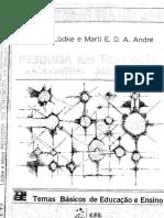 Pesquisa Em Educação - Abordagens Qualitativas - Lüdke & André 1986