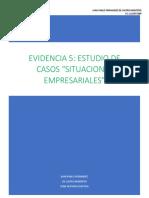 Evidencia 5 Estudio de Casos Situaciones Empresariales Juan Pablo