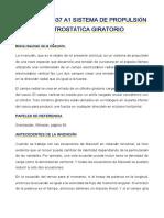US 20030209637 A1 SISTEMA DE PROPULSIÓN ELECTROSTÁTICA GIRATORIO - ESPAÑOL.pdf