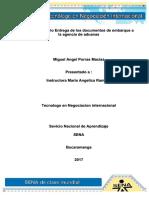 Kupdf.net Evidencia 7 Caso de Estudio Entrega de Los Documentos de Embarque a La Agencia de Aduanas