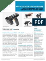 1128 Bluetooth Handheld UHF Reader Datasheet