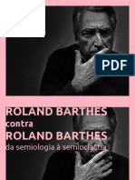 Roland Barthes Contra Roland Barthes INTERCOM 2018