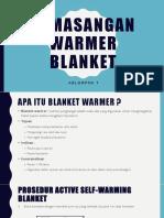 Makalah Memasang Warmer Blanket