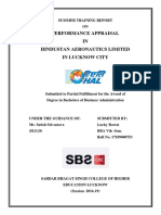 PERFORMANCE APPRASIAL IN HAL.docx