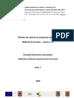 Vionelia Stefu si Seica Ladislau - Sisteme de operare si programe specifice - partea I (ORIGINAL).doc