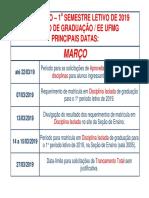 Calendário Cegradee 2019.1