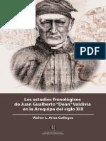 Arias, Walter (2018). Estudios frenológicos de Dean Valdivia en la Arequipa del siglo XIX