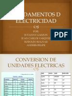 FUNDAMENTOS D ELECTRICIDAD.pptx