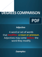 Degrees Comparison